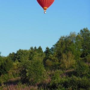 petite mormont en montgolfiere