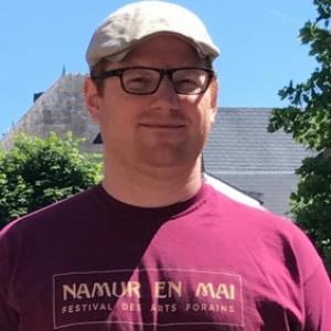 """Samuel Chappel, le directeur de l asbl """"Nem"""", organisatrice de """"Namur en Mai"""" pour la 4e annee"""