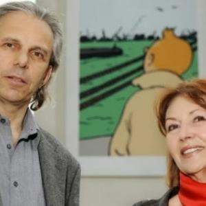 "Nick & Fanny (c) ""Hergé-Moulinsart"" 2017"