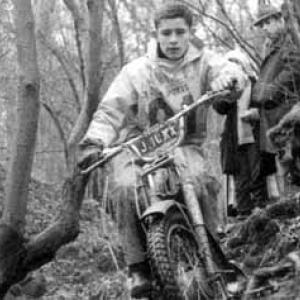 A 18 ans, en 1967, Jacky Ickx est Champion de Belgique en Trial, categorie 50 cm3