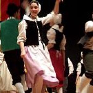 """La Frairie au """"Festival Mondial de Folklore de Jambes-Namur"""" (c) Andre Dubuisson"""