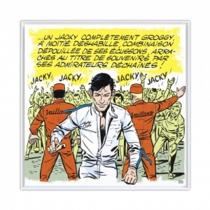 """Jacky Superstar"" (c) ""Michel Vailant Art Strips""/2020"
