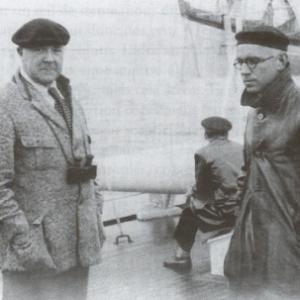 """Henri Lavachery et Alfred Métraux (c) """"MRAH"""""""