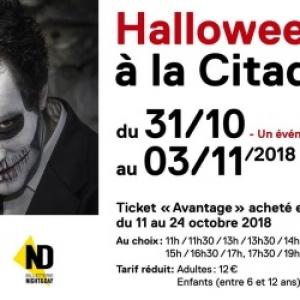 « HALLOWEEN », À LA CITADELLE DE NAMUR, DU 31/10 AU 03/11