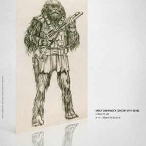 """Chewbacca"", par Ralph Mc Quarrie TM & (c) 2014"