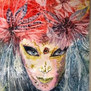 """(c) Agnes Vanoverschelde, pour qui """"dessiner, peindre, c est d abord Voir, Regarder""""/""""ENAM"""""""
