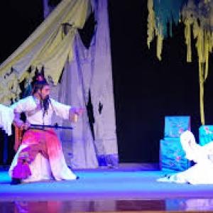 """""""Le Temple hante"""" (""""Jiyuan Yu City Opera Troupe""""/Chine)"""