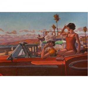 """""""Beachcombers"""" 73 x 100 cm (c) Miles Hyman"""