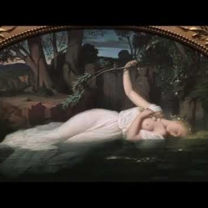 """Ophelie"", Leopold Burthe, 1852"