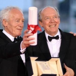 """""""Le Jeune Ahmed"""" (Jean-Pierre et Luc Dardenne) : L equipe du film, a Cannes (c) """"AFP"""""""