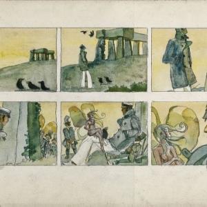 """En voyage avec """"Corto Maltese"""" et ses reves (c) Hugo Pratt/""""Cong"""" S.A."""