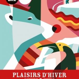 """""""Plaisirs d'Hiver"""", jusqu'au 05 Janvier, et Feu d'Artifice du Nouvel An, à Bruxelles"""