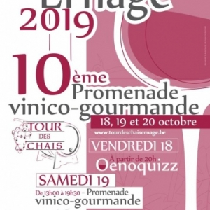 "10e ""Tour des Chais"", à Ernage, du 18 au 20 Octobre"
