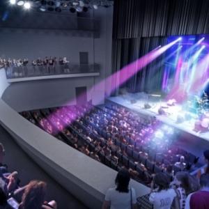 Sa future Grande Salle (c) Province de Namur