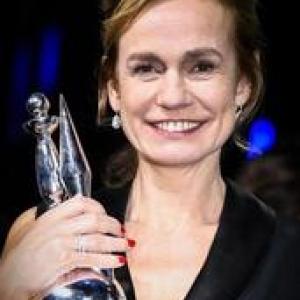 """Sandrine Bonnaire, derniere laureate du """"Magritte d Honneur"""" (c) """"RTL"""""""