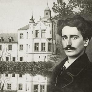 """Felicien Rops et le Chateau de Thozee (c) """"Musee Felicien Rops"""""""