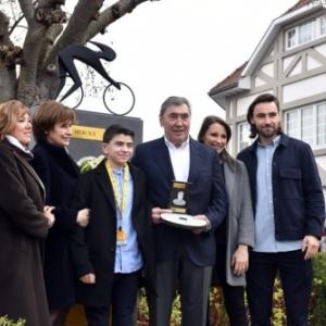 En Famille, avec, a droite, son petit-fils, Luca, Champion Olympique de Hockey 2016 (c) Woluwe-St.-Pierre