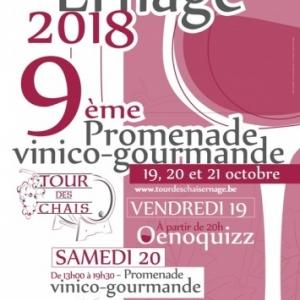 9ÈME « TOUR DES CHAIS », À ERNAGE, DU 19 AU 21 OCTOBRE
