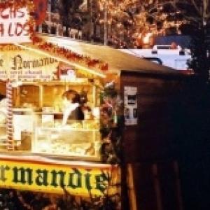 Le chalet de la Normandie, avec son camembert chaud et son jambon a l os grille