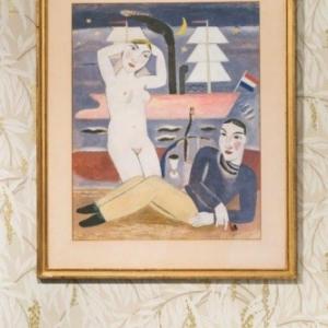 """Dans le Boudoir de Madame, """"De Zeearende (1926) de Gustave De Smet (c) Lola Pertsowsky"""