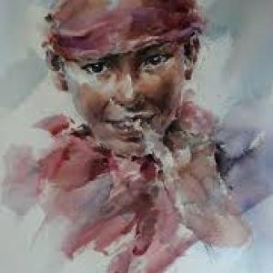 """""""Portrait"""" (c) Cao Bei-Lan"""