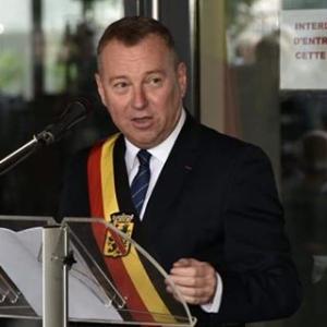 A l occasion de la Fete Nationale francaise, le discours du Gouverneur (c) Andre Dubuisson