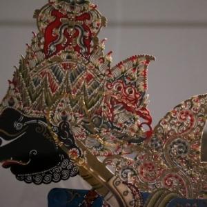 """Marionnette du """"Wayang Kulit"""""""