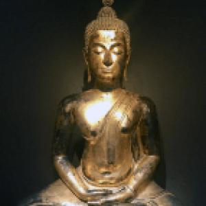 "Bouddha assis (c) ""Christophe Hioko Gallery"""