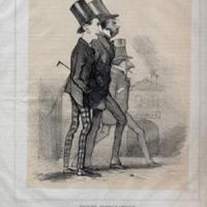 """""""Trinite photographique"""", 1856, Felicien Rops (c) """"Musee Felicien Rops"""""""