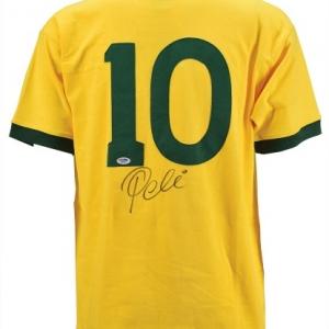 """Maillot signe par """"Pele"""" (c) """"Woodfox Autographs"""""""