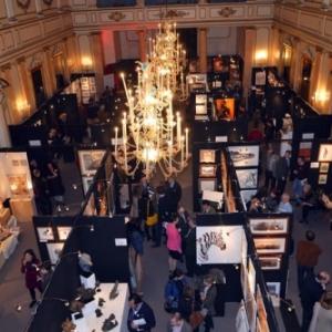 """Presence des Artistes francais dans la 1ere Salle du """"Cercle Gaulois, Artistique et Litteraire"""""""