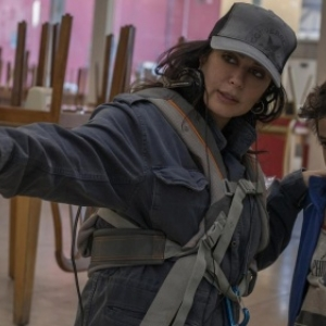 "Nadinae Labaki sur le Tournage de ""Capharnaum"""