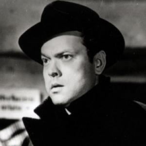 """Orson Welles, dans """"Le troisieme Homme"""""""