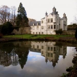 """Chateau de Thozee (Ville de Mettet) (c) """"Musee Felicien Rops"""""""