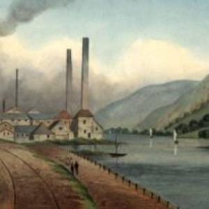 """Joseph Fussell (1818-1912), St.-Georges-sur-Meuse au 19eme siecle (c) """"Universite de Liege"""""""