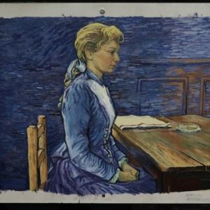 """L un des 65.000 Tableaux peints pour le Film """"La Passion Van Gogh"""""""