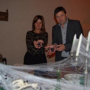"""Christine Laverdure et Arnaud Gavroy, chevilles ouvrieres d """"Halloween"""" (c) A. Comps/""""LAvenir"""""""