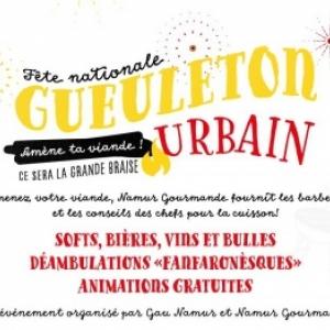 """Le """"Gueuleton Urbain"""" de la Fete Nationale"""