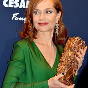 "Isabelle Huppert, ""Cesar de la meilleure Actrice"" 2017"