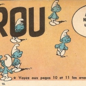 """Les """"Schtroumpfs"""", en 1958 (c) """"Peyo""""/""""Dupuis"""""""