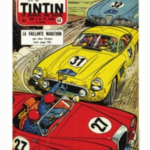 Couverture Journal Tintin 1957 - Numero 44 (c) Jean Graton/Graton Editeur 2018