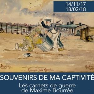 '14-'18 : « Souvenirs de ma Captivité », à Jambes, jusqu'au 18 Février