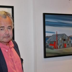 "Jacques de Loustal (c) J.-J. Couvreur/""Loustal""/""Huberty et Breyne Gallery"""