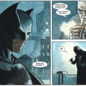 """""""Batman"""", vu par Enrico Marini (c) Ed. """"Dargaud"""""""