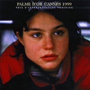 """Emilie Dequenne, en 1999, pour """"Rosetta"""", au """"Festival de Cannes"""""""