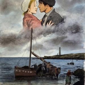 """Planche originale de la Couverture de """"L Or des Marees"""" (c) Serge Fino"""