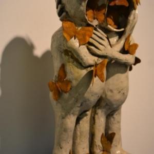 """A la """"Galerie du Beffroi"""", l une des Metomorphoses de (c) Pierre Sgamma / Photo : (c) Murielle Lecocq"""