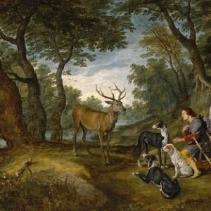 """La Vision de Saint-Hubert"" (c) ""Museo del Prado"""