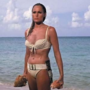 """Usrula Andress, dans """"James Bond contre Dr. No"""""""