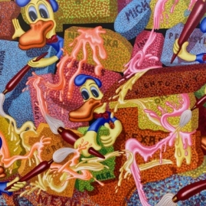 """Pop Art 1"" (1992) (c) Peter Saul/""Artist s Rights Society"", New York"
